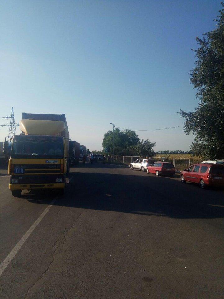 Trafic degajat în punctele de trecere Palanca-Maiaki-Udobnoe și Tudora-Starokazacie