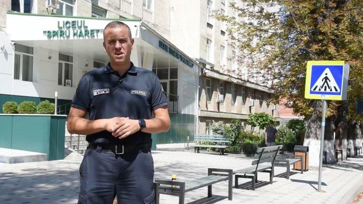Şeful IGP, Alexandru Pînzari a lansat o PROVOCARE pentru toți primarii din țară ca să inscripționeze mesaje pe trecerile de pietoni din localitățile lor