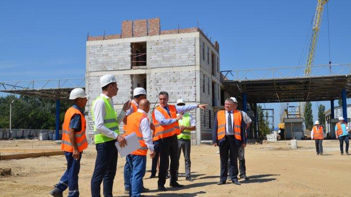 Vitalie Vrabie a inspectat lucrările de reconstrucție a postului vamal Palanca