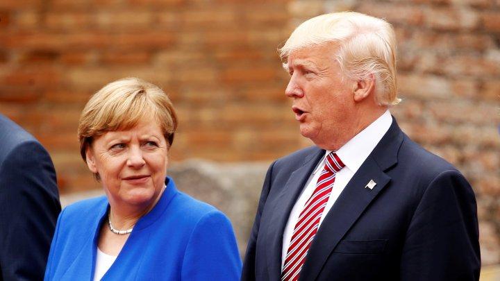 Criză umanitară. Merkel şi Trump sunt îngrijoraţi de situaţia din Siria