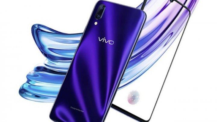 Vivo X23, un nou smartphone chinezesc cu breton mic şi senzor de amprentă în display