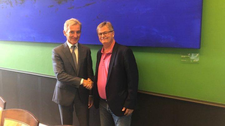 Iurie Leancă într-o vizită de lucru în Danemarca: Doar apropierea de UE poate garanta cetățenilor moldoveni prosperitate și securitate