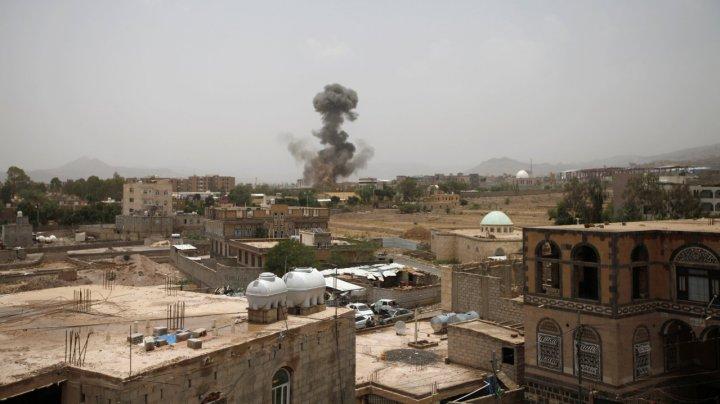 26 de copii şi-au pierdut viaţa în Yemen în urma bombardamentelor coaliţiei conduse de Arabia Saudită
