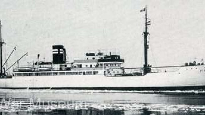 Epava unei nave militare germane din Al Doilea Război Mondial a fost găsită în largul coastelor Danemarcei