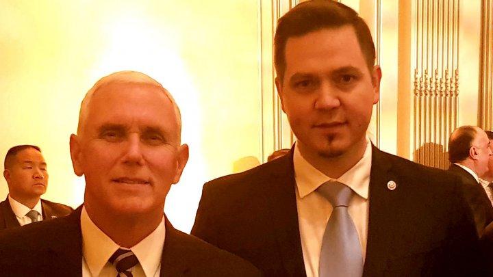 Vicepreşedintele american, Mike Pence: SUA susțin eforturile autorităților de la Chișinău îndreptate spre dezvoltarea țării