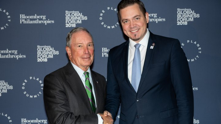 Tudor Ulianovschi a participat la Bloomberg Global Business Forum 2018