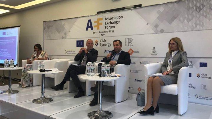 Moldova a participat la cel de-al II-lea Forum al societății civile privind schimbul de experienţă în implementarea Acordurilor de Asociere cu UE