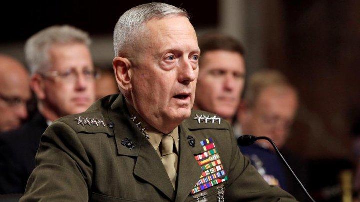 Jim Mattis infirmă insinuările Moscovei că rebelii ar pregăti un atac chimic la Idlib, încurajaţi de SUA