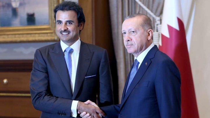 Ce cadou valoros i-a oferit Emirul Qatarului preşedintelui Turciei
