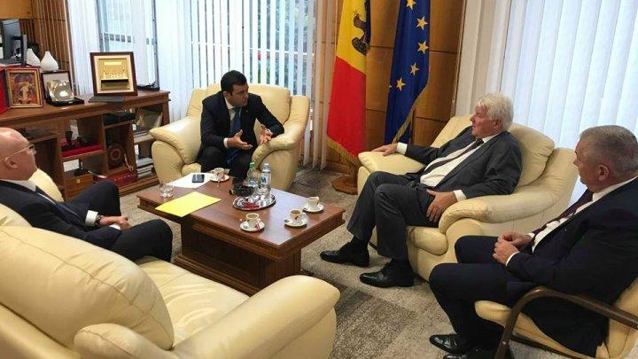 Chiril Gaburici în discuție cu vicepreședintele Gazprom despre eforturile și progresul obținut privind independența operatorului de transport gaze