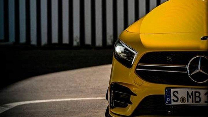 Mercedes a publicat o serie de teasere noi cu viitorul AMG A35
