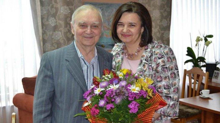 Ion Druță împlinește astăzi 90 de ani. Monica Babuc l-a felicitat pe marele scriitor