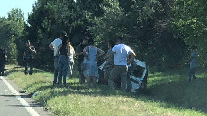 CARAMBOL pe drumul spre aeroport. Mai multe maşini, implicate într-un grav accident (VIDEO)