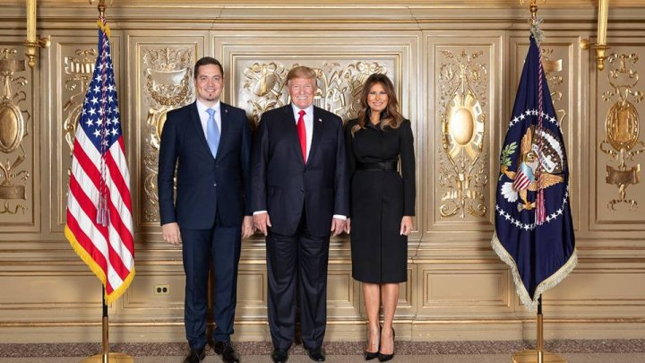 Ministrul de Externe, Tudor Ulianovschi, alături de președintele american Donald Trump la Adunarea Generală a ONU