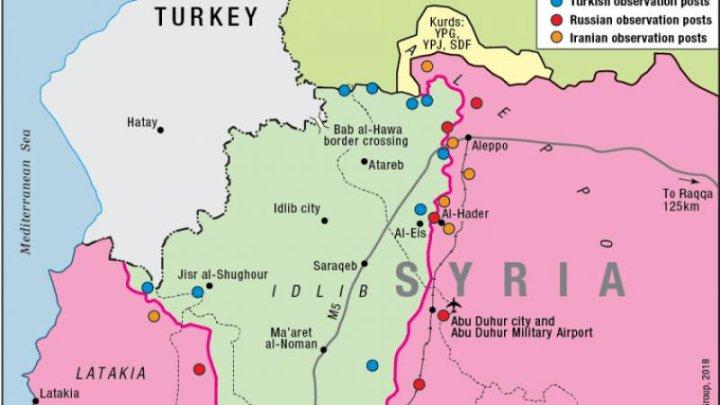 Ultimul fief sirian necontrolat de Assad ar putea fi bombardat cu arme chimice
