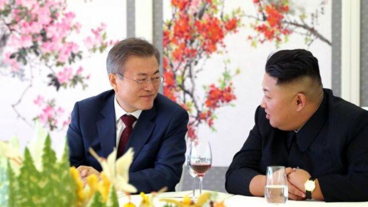 Preşedintele sud-coreean s-a întors din Coreea de Nord cu un cadou mai puţin obişnuit. Ce i-a dăruit Kim Jong-un