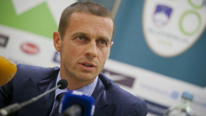 UEFA dezminte planul de organizare a finalei Ligii Campionilor în afara Europei
