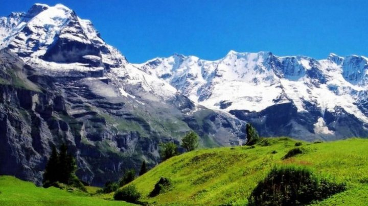 ÎNGRIJORĂTOR: Zăpada a început să dispară din Elveția, inclusiv din Alpi