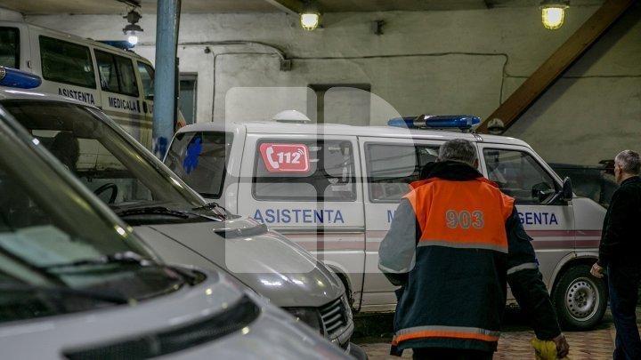 O ambulanţă a fost implicată într-un accident rutier la Bălţi (VIDEO)