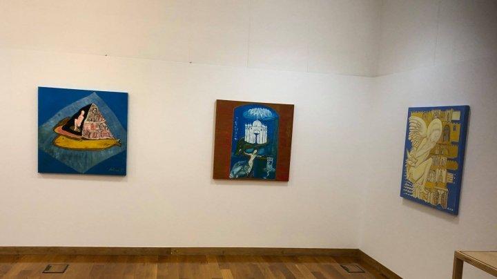 Cum au ajuns picturile Alinei Palamarciuc la Lisabona