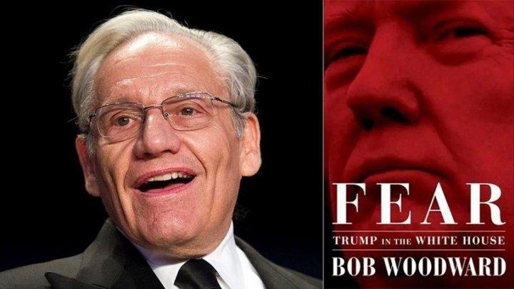 Cartea lui Bob Woodward despre Donald Trump, RECORD de vânzări în prima săptămână de la lansare
