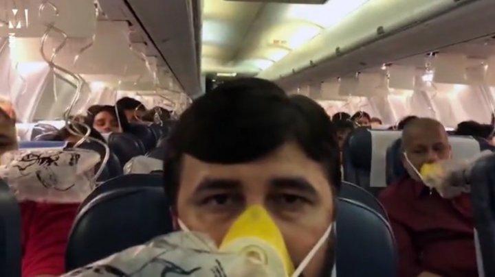 Panică într-un avion cu 166 de oameni la bord. Mai mulţi pasageri au avut sângerări nazale și din urechi