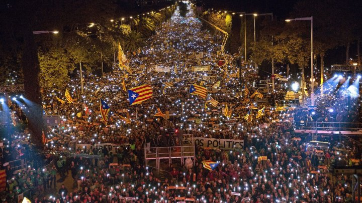 Catalonia a relansat campania pentru obţinerea independenţei faţă de Spania
