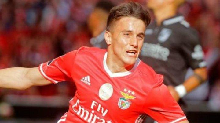 Internaţionalul argentinian Franco Cervi şi-a prelungit contractul cu Benfica Lisabona până în anul 2023