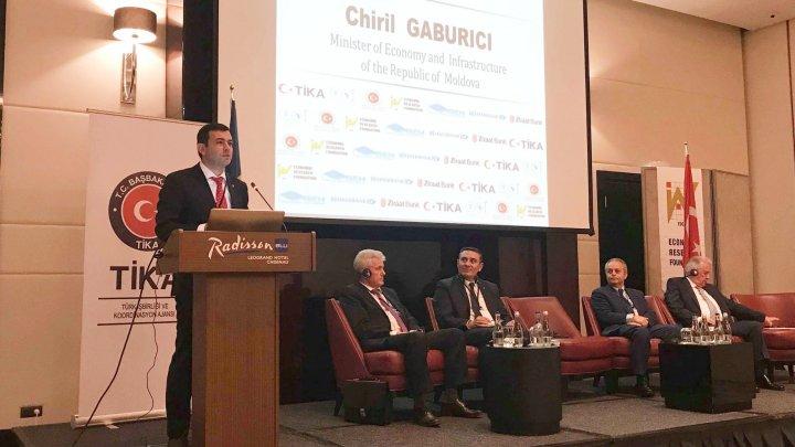 Chiril Gaburici: Vrem să atragem investiții turcești în sectorul agroalimentar și în dezvoltarea rurală a țării