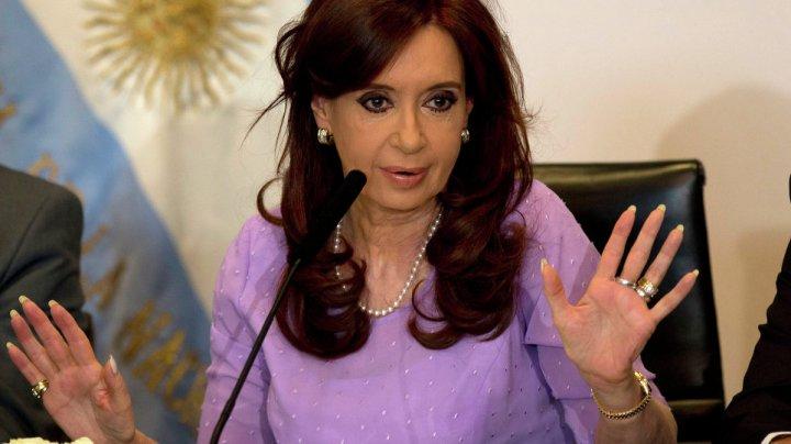 Fosta preşedintă a Argentinei, Cristina Kirchner, inculpată pentru corupţie