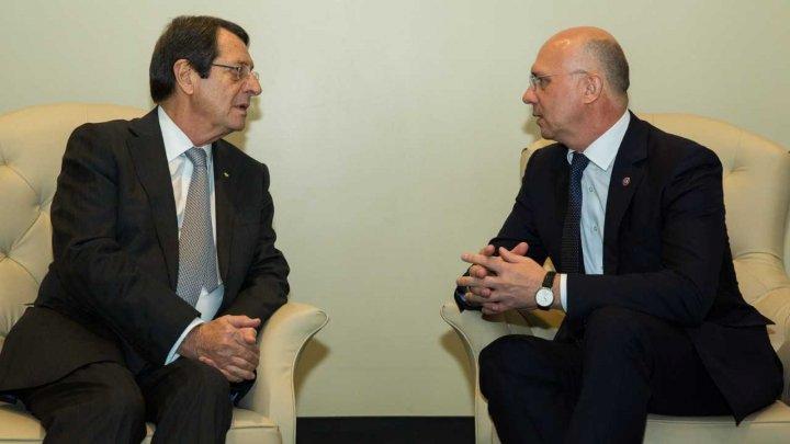 Cipru susține agenda de reforme a Guvernului: Pavel Filip și președintele Republicii Cipru, Nikos Anastasiades, au convenit asupra domeniilor de cooperare