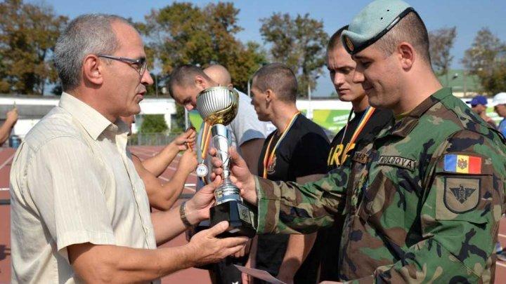 Echipa de militari ai Armatei Naţionale a ocupat locul II în cadrul Spartachiadei între structurile de forţă