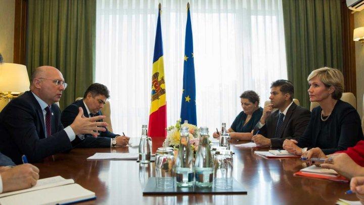 Premierul Pavel Filip a avut o întrevedere cu Directorul de Țară al Băncii Mondiale, Satu Kahkonen