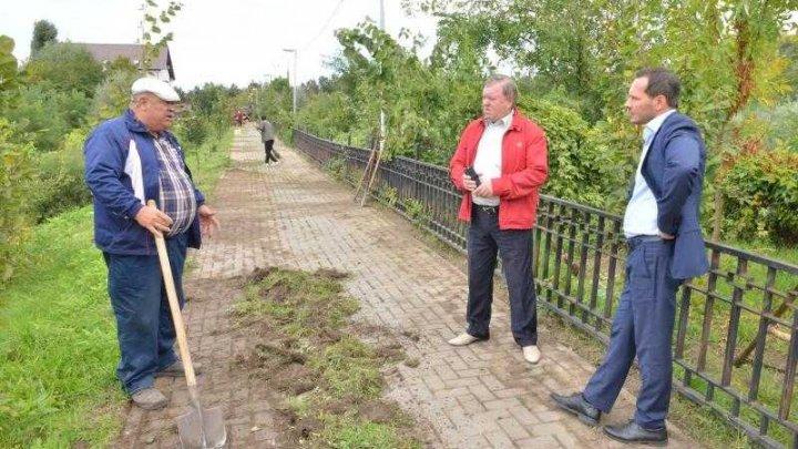 În parcul Valea Morilor din Capitală se desfăşoară o acţiune de salubrizare şi amenajare a teritoriului