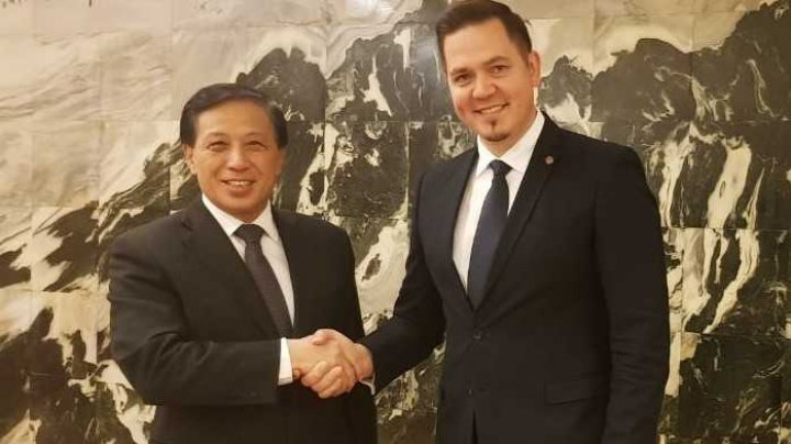 Tudor Ulianovschi a solicitat la Beijing eliminarea taxelor vamale la importul produselor agricole și vinicole moldovenești pe piața chineză