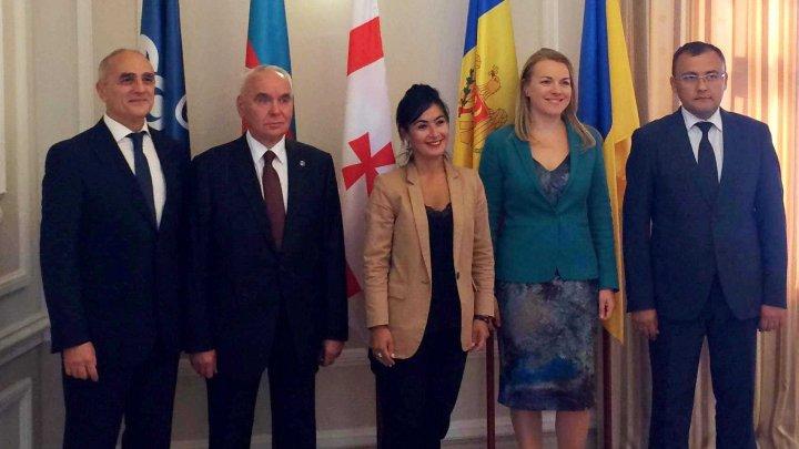 Secretarul de stat Tatiana Molcean a condus lucrările Consiliului Coordonatorilor Naţionali al GUAM