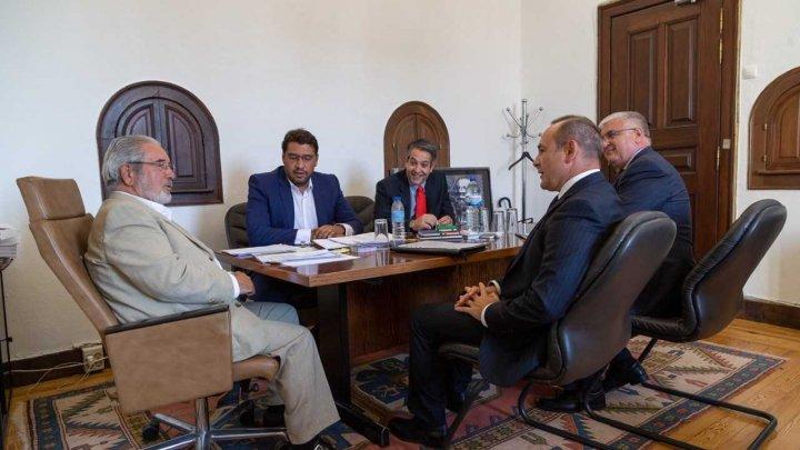 Ambasadorul Dumitru Socolan a avut o întrevedere cu Președintele Camerei Municipale Oeiras, Isaltino Morais