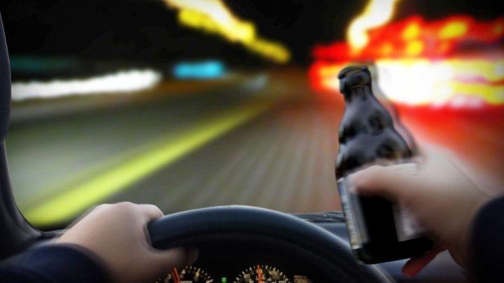 Un șofer din Capitală a fost prins beat la volan. Conducătorul auto se va alege cu dosar penal