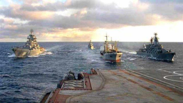 Acţiunile AGRESIVE ale Rusiei au determinat Ucraina să desfăşoare trupe în zona Mării Azov