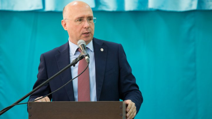 Pavel Filip în vizită la Căuşeni: Mă bucur că eforturile depuse de către Guvern dau rezultate