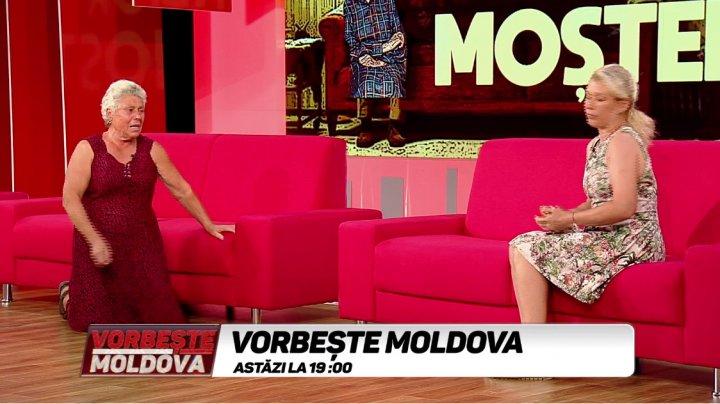 O femeie din Căușeni, izgonită din casă de fiică. Cine e de vină? Acuzaţii, lacrimi şi scandal la Vorbește Moldova (VIDEO)