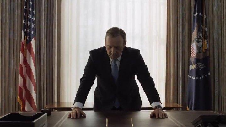 FINALUL House of Cards. Ce se întâmplă cu personajul interpretat de Kevin Spacey
