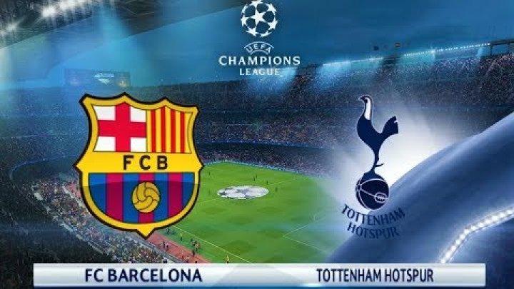 Pe 3 octombrie gruparea catalană va întâlni pe Tottenham Hotspur în Liga Campionilor, LIVE la CANAL 3