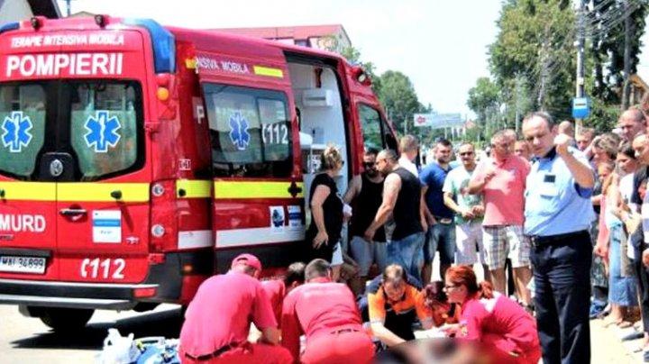 Accident ŞOCANT în România. O adolescentă A MURIT PE LOC, după ce a fost zdrobită de o maşină