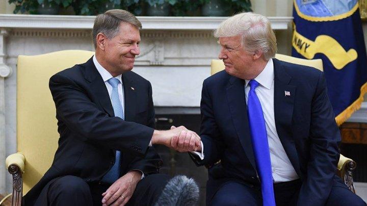 Preşedintele României Klaus Iohannis se va întâlni cu Donald Trump