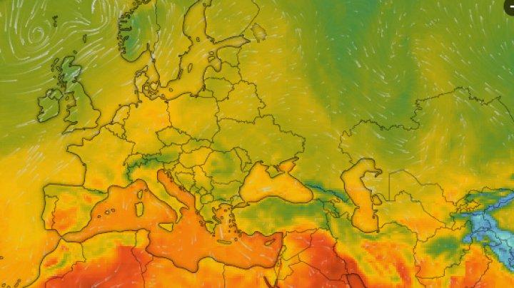 Experţii trag un semnal de alarmă: Un val de ger arctic se revarsă peste Europa. Temperaturile vor scădea inclusiv în Moldova