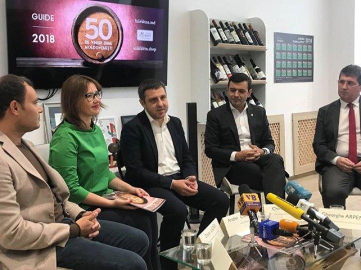 Chiril Gaburici: Moldova are un mare potențial la capitolul producerii vinurilor de înaltă calitate