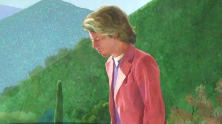 O pictură a britanicului David Hockney, scoasă la licitaţie