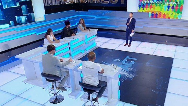 Există sau nu toleranță în Republica Moldova, diseară la IMPACT (PROMO)