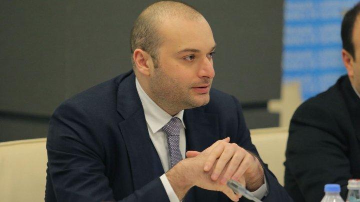 Pavel Filip l-a felicitat pe omologul său georgian, Mamuka Bakhtadze, cu ocazia numirii sale în funcţii